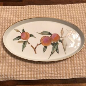 Royal Worcester tray